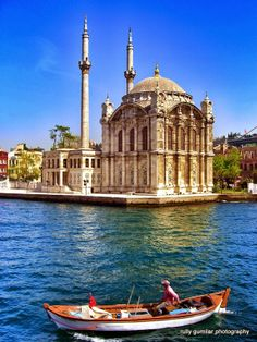 Ortakoy Mosque, Istanbul Turkey – Hala Batainah – Join the world of pin Places To Travel, Places To See, Wonderful Places, Beautiful Places, Places Around The World, Around The Worlds, Empire Ottoman, Istanbul City, Mekka
