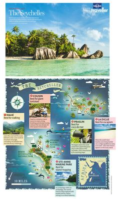 Beyond The Seychelles feature in Lonely Planet Traveller magazine - May 2013 issue.
