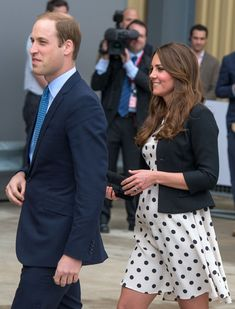 The Duke and Duchess of Cambridge arrived at the Warner Bros studios in Leavesden