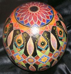 Pusanka Egg by Mark E Malachowski.