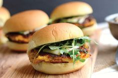 Smashed chickpea and sweet potato sliders : She Knows