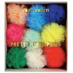 Kleurrijk & Hip Toot Sweet Thema - www.confettienco.be #decoratie #verjaardag #feest #kinderen #kleur #pompon #merimeri #webshop