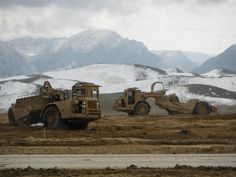 Deployed 875th Engineers still putting in hard work in Afghanistan - check out that mountain view