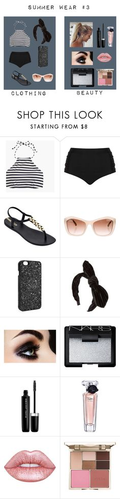 """""""Summer Wear #3"""" by itsabistoneofficial ❤ liked on Polyvore featuring J.Crew, Cactus, IPANEMA, Chanel, Victoria's Secret, NARS Cosmetics, Marc Jacobs, Lancôme, Lime Crime and Stila"""