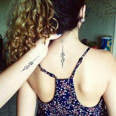 Mother daughter tattoos design ideas 14 #TattooYou