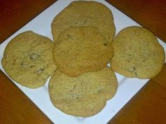 Food I Make My Soldier: Almond Flour Chocolate Chip Cookies