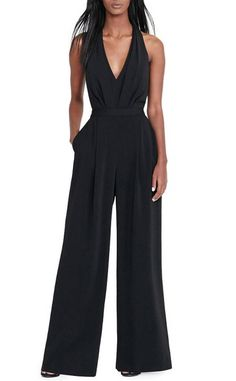 50 Sleek and Sexy Examples Of JumpSuit Trend Successfully Worn Ruffle Romper, Lace Ruffle, Split Legs, Jumpsuit Outfit, Rachel Roy, Jumpsuits For Women, Women's Leggings, Wide Leg, Rompers