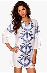 Make Way Cedric Tunic White/Blue Bubbleroom.se