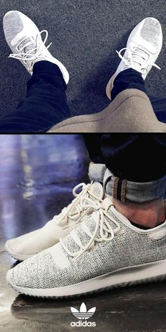 Yoga Clothes : For a new take on streetwear style shop the adidas Originals Tubular Shadow Sho Cute Shoes, Me Too Shoes, Fashion Shoes, Mens Fashion, Fashion Trends, Sneakers Fashion, Fashion Inspiration, 3d Texture, Moda Masculina