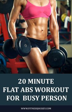 20 minute flat abs workout for busy person fitness, exercise 6 Pack Abs Workout, Flat Abs Workout, Tummy Workout, Abs Workout Routines, Abs Workout For Women, Hiit, Hockey Workouts, Ab Workouts, Weight Loss For Women