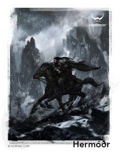 Æsir: Hermóðr: Messenger of the Æsir