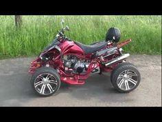 Quads For Sale, Trike Motorcycle, Quad Bike, Atv, Peugeot, Stars, Wood, Youtube, Quad