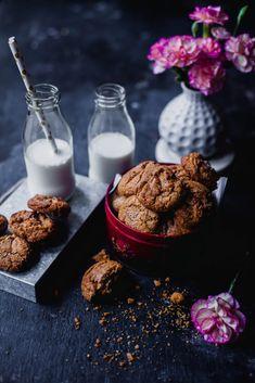 Almond Butterscotch Chips Cookies | Playful Cooking #flourless #cookies #almond