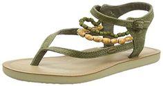O'Neill FW BATIDA BEADS Damen Knöchelriemchen Sandalen mit Keilabsatz - http://on-line-kaufen.de/oneill/oneill-fw-batida-beads-damen-knoechelriemchen