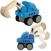 Plan Toys - Mini Excavator #CottonBabies