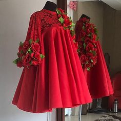 our favorite dress(Chicoco) is back? Our signature Chicoco dress in red ? African Dresses For Kids, African Lace Dresses, Latest African Fashion Dresses, Ankara Fashion, Classy Work Outfits, Classy Dress, Frock Fashion, Fashion Outfits, New Dress Design Indian
