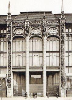 Kaufhaus Wertheim, Berlin, Leipziger Straße 132-133, Mittelbau, um 1900. Fotograf unbekannt.