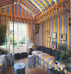 The Developed Eye: DESIGN: A Tented Room