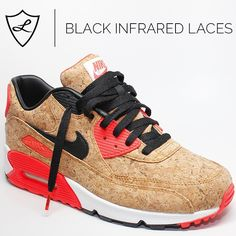Black Infrared Laces Are Live! Perfect for all of the Infrared Releases this Spring