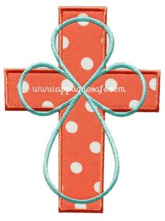 Cross 6 Applique Design Sizes hoop x hoop x hoop x Embroidery Designs, Applique Designs, Gumball, Diy Cadeau, Girly, Bow, Machine Embroidery Applique, Monogram Design, Clothes Crafts