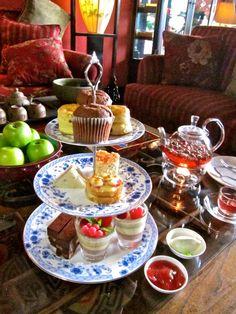 english high tea service