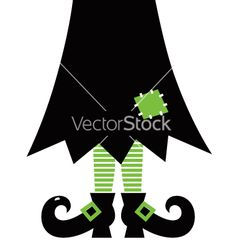 Retro halloween witch vector by lordalea on VectorStock®