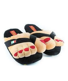 f8387d251d35 Beat a chilly morning with a plush reminder of sunny days! These whimsical novelty  slippers