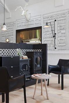 Restaurant Design: The Old Library by Hecker Guthrie