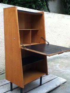 100 euros h 117 5 cm l 65 cm p 32 et 40 cm en bas bureau secretaire desig - Bureau largeur 40 cm ...