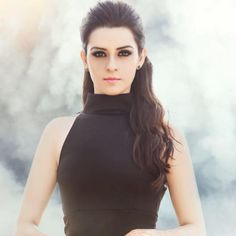 """Ekta Kaul, actress from Indian TV soap """"Mere Angne Mein"""""""