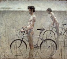 Naked bikers