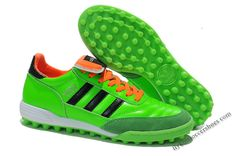 the latest 4b995 ce2b1 2014 Latest Adidas Copa Mundial Team Astro TF Soccer Boots green black  orange Football Shoes,