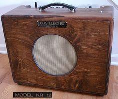 Vintage 1950s AMPRO Speaker Cabinet Vintage by LizzieTishVintage ...