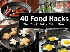 When it comes to food hacks, you probably think you've seen them all. Here are 40 innovative hacks that will change the way you cook in the kitchen.
