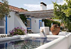 Casa tradicional rústica de Portugal