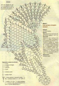 Nappes & napperons au crochet - Le monde-creatif
