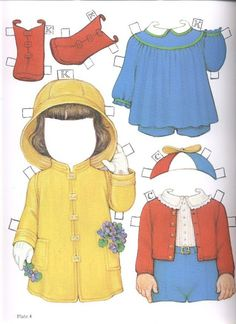 1985 Reproduction of BEST FRIENDS Paper Dolls Publisher: Dover <> Original 1930s by Queen Holden 12 of 16