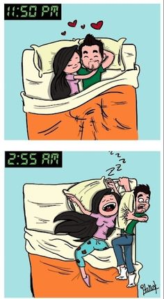 How She Sleeps With Him Every Single Night