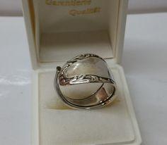 212 mm Besteckschmuck Silberbesteck Ring von BesteckschmuckBaron