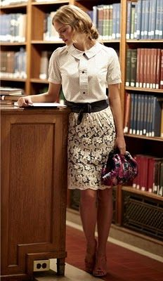 librarian chic