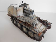 1/35 built German 150 mm SPG Grille-M in Jeux, jouets, figurines, Maquettes | eBay