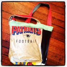 project repat = turns your saved t-shirts into bags and scarves.
