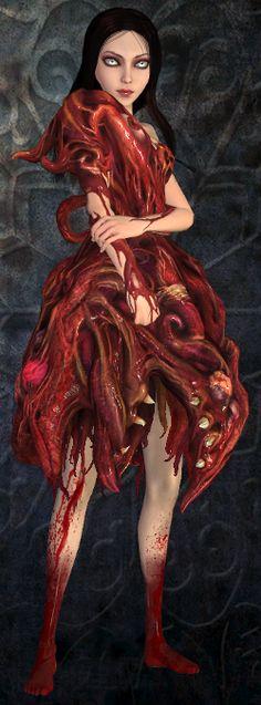 Alice: Madness Returns Fleshmaiden Dress