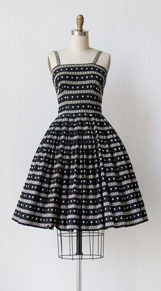 vintage 1950s dress | 50s dress