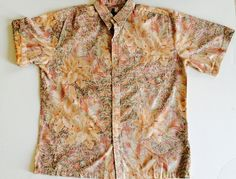 ALOHA Hawaiian Shirt  Kama'aina Style  by BrocanteBedStuyHOMME