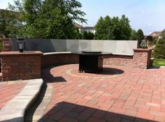 Paver Patio and Bench