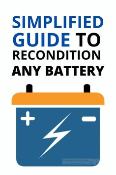 Have a Ryobi Battery That Won't Charge? You Can Fix That. batteries diy Lithium ion batteries are a wondrous invention that are lightweight and long lasting. But it's infuriating when the battery won't recharge. You stick the battery in the charger and ... nothing. Guess what? You can fix these batteries that appear to be completely dead. Read on ... This post is Car Audio Battery, Jump A Car Battery, Ryobi Battery, Solar Battery, Dual Battery Setup, Lead Acid Battery Charger, Battery Hacks, Battery Tools, Cordless Drill Batteries