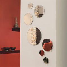 Nexxt Design FN50032-9INT Zoe Round Mirrors (Set of 7)
