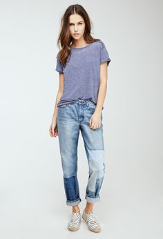 Burnout Knit Tee | Forever 21 - 2049257808