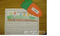 Mrs. Plant's Press: More Peter Rabbit Fun {With a Little Pete the Cat!}